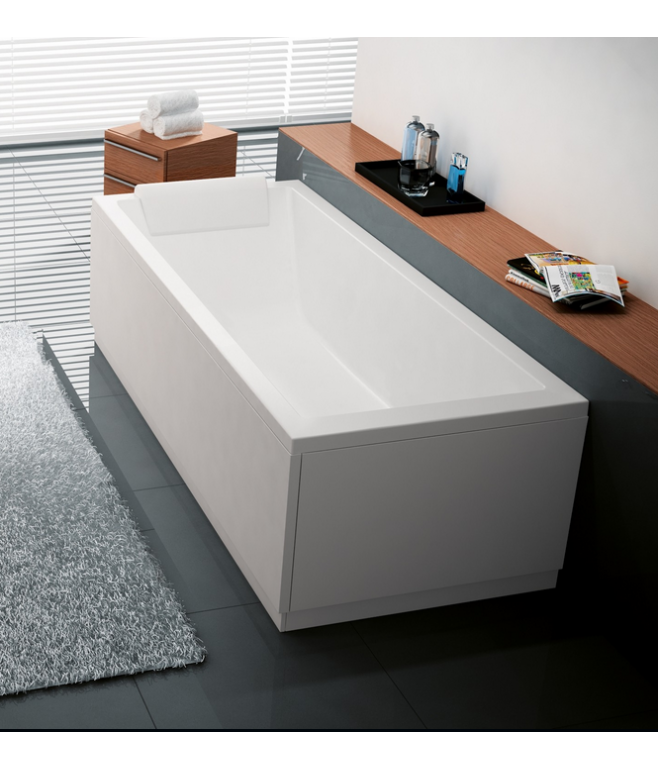Vasca da bagno incasso 170*70 metacrilato Bianco