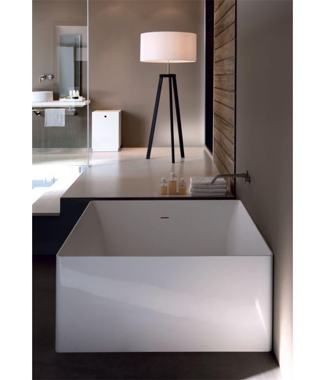 Vasca da bagno freestanding atmosfera quadrata colacril for Vasca da bagno freestanding
