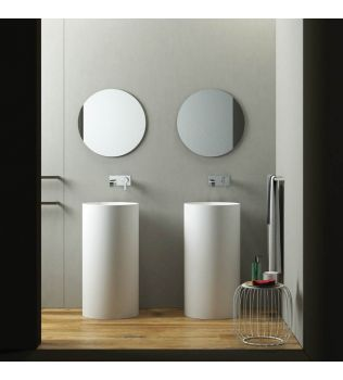 Lavabo Freestanding cilindrico RELAXDESIGN
