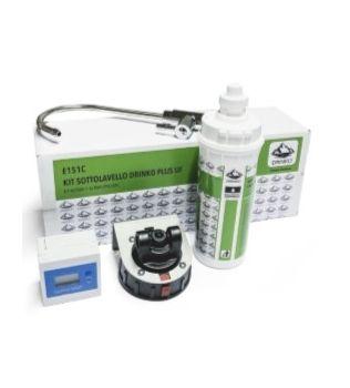 DRINKO PLUS Kit sottolavello Depuratore a filtro carboni attivi