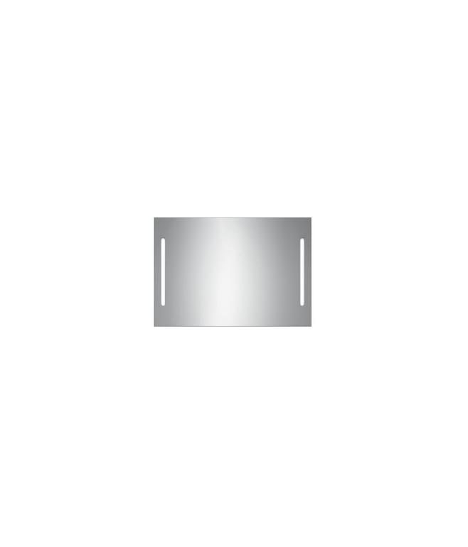 SPECCHIO  con illuminazione frontale fluorescente dx e sx