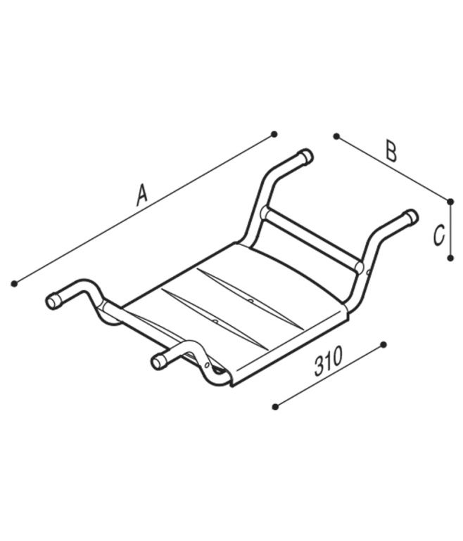 DISABILI Sedile removibile per vasca