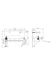 Meccanismo pneumatico di inclinazione per lavabo OLDER