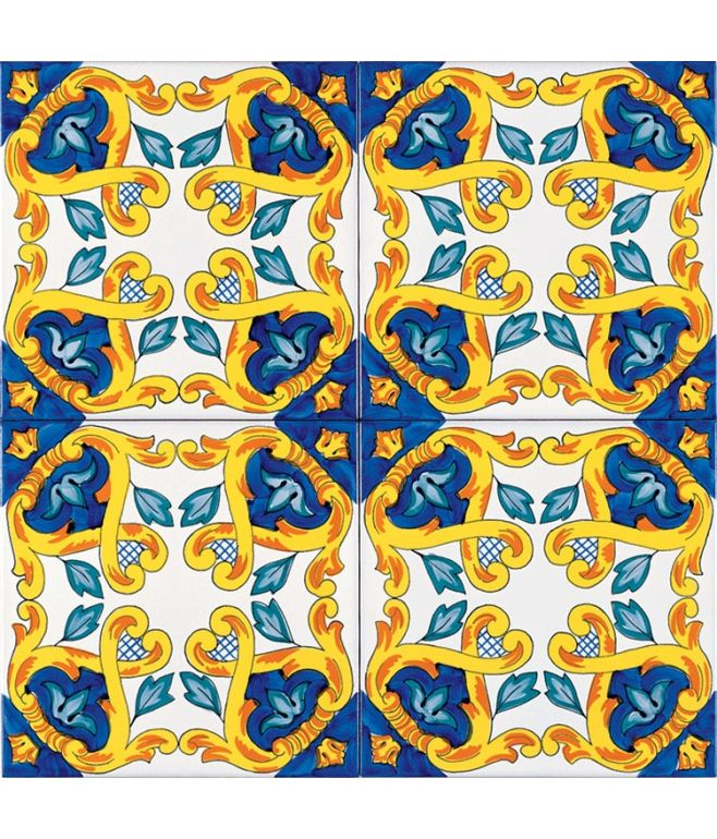 Piastrella 20x20 decoro APPIA G.De Maio