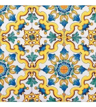 Piastrella 20x20 decoro CAMALDOLI G.De Maio