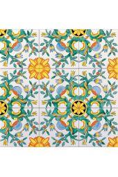 Piastrella 20x20 decoro GLORIA G.De Maio