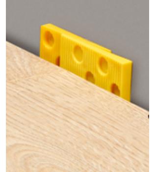 Blocchi di dilatazione per pavimento in laminato