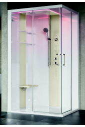 SKILL Angolare 120x100 Cabina doccia multifunzioni Novellini