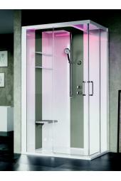 SKILL Angolare 120x80 Cabina doccia multifunzioni Novellini