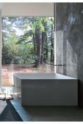 Vasca da bagno freestanding ATMOSFERA QUADRATA COLACRIL