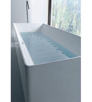 Vasca da bagno freestanding ATMOSFERE RETTANGOLARE COLACRIL