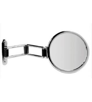 Specchio ingranditore bifacciale da parete TOELETTA KOH I NOOR