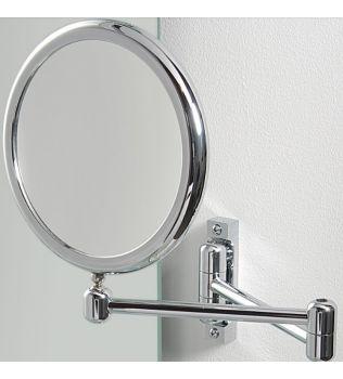 Specchio ingranditore bifacciale da parete DOPPIOLO KOH I NOOR