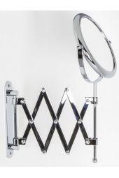 Specchio ingranditore bifacciale da parete DOPPIOLINO KOH I NOOR