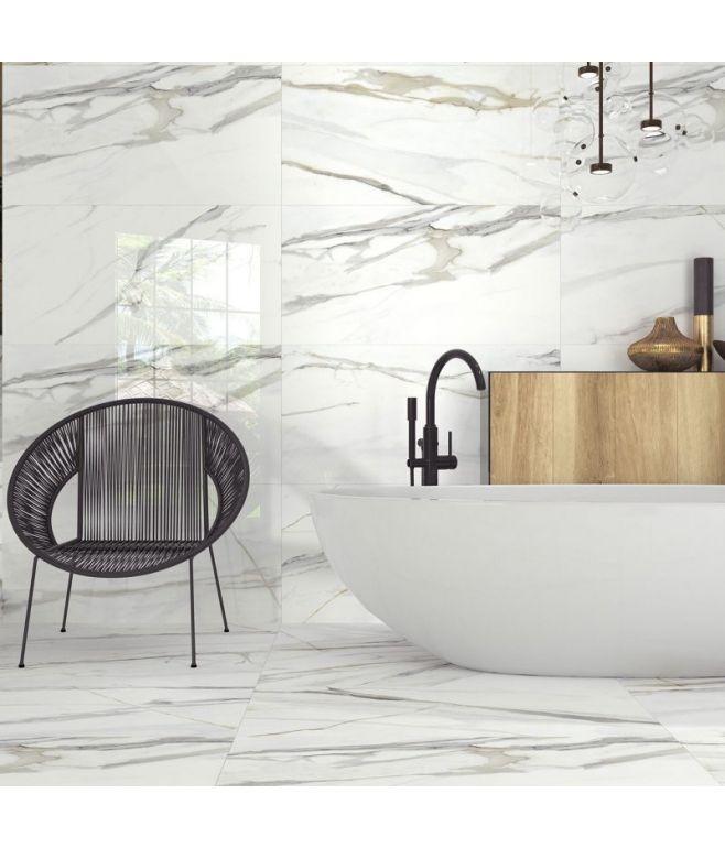 Piastrella Effetto marmo Calacatta Emporio