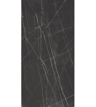 Grandi lastre in gres Effetto marmo Black Lucido