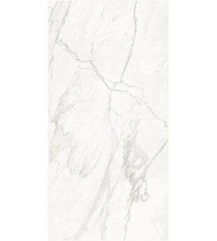 Grandi lastre in gres Effetto marmo White Montblanc
