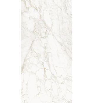 Grandi lastre in gres Effetto marmo  Calacatta Gold Lucido