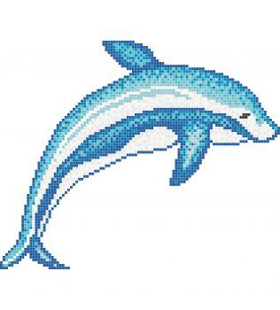 BRYAN Decoro singolo in mosaico vetroso Aquatica Trend
